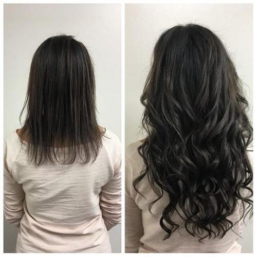Индийска коса 60 см натурално черно image 3
