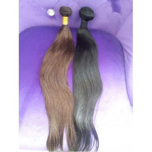 Индийска коса 60 см натурално черно image 4