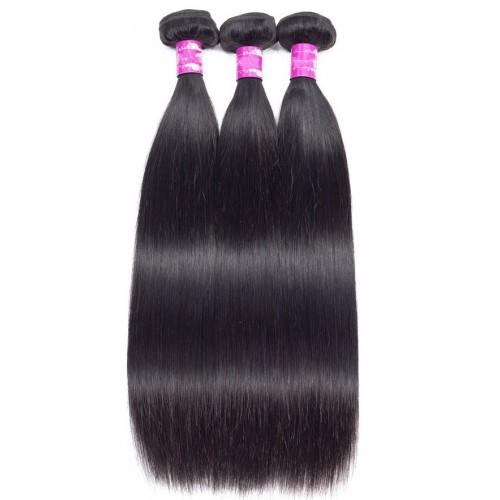 Индийска коса 60 см натурално черно image 6