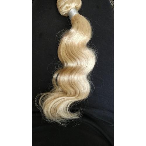 Индийска коса 60 см светло русо image 3