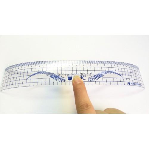 Линия за измерване на вежди