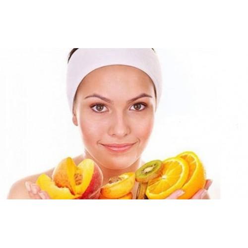 Терапия за лице с цитросови витамини